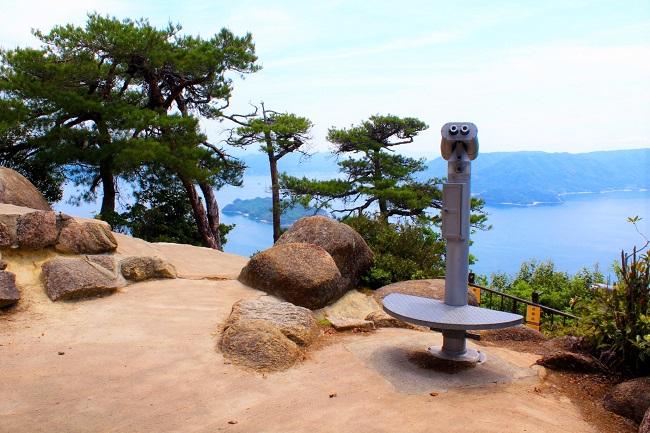 厳島_弥山 獅子岩展望台
