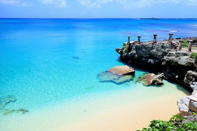 テニアン島_タガビーチ