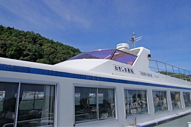 沖島_渡し船