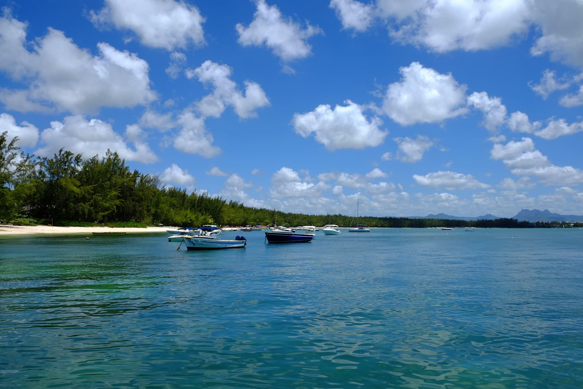 モーリシャス島_ビーチ