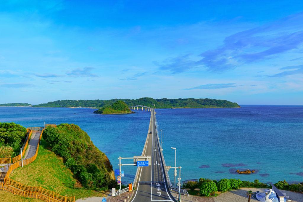 山口県「角島」の絶景づくし!コバルトブルーの真ん中をドライブしよう♪
