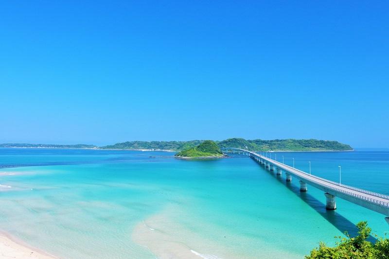 角島の絶景をドライブ!コバルトブルーの海を満喫しよう♪