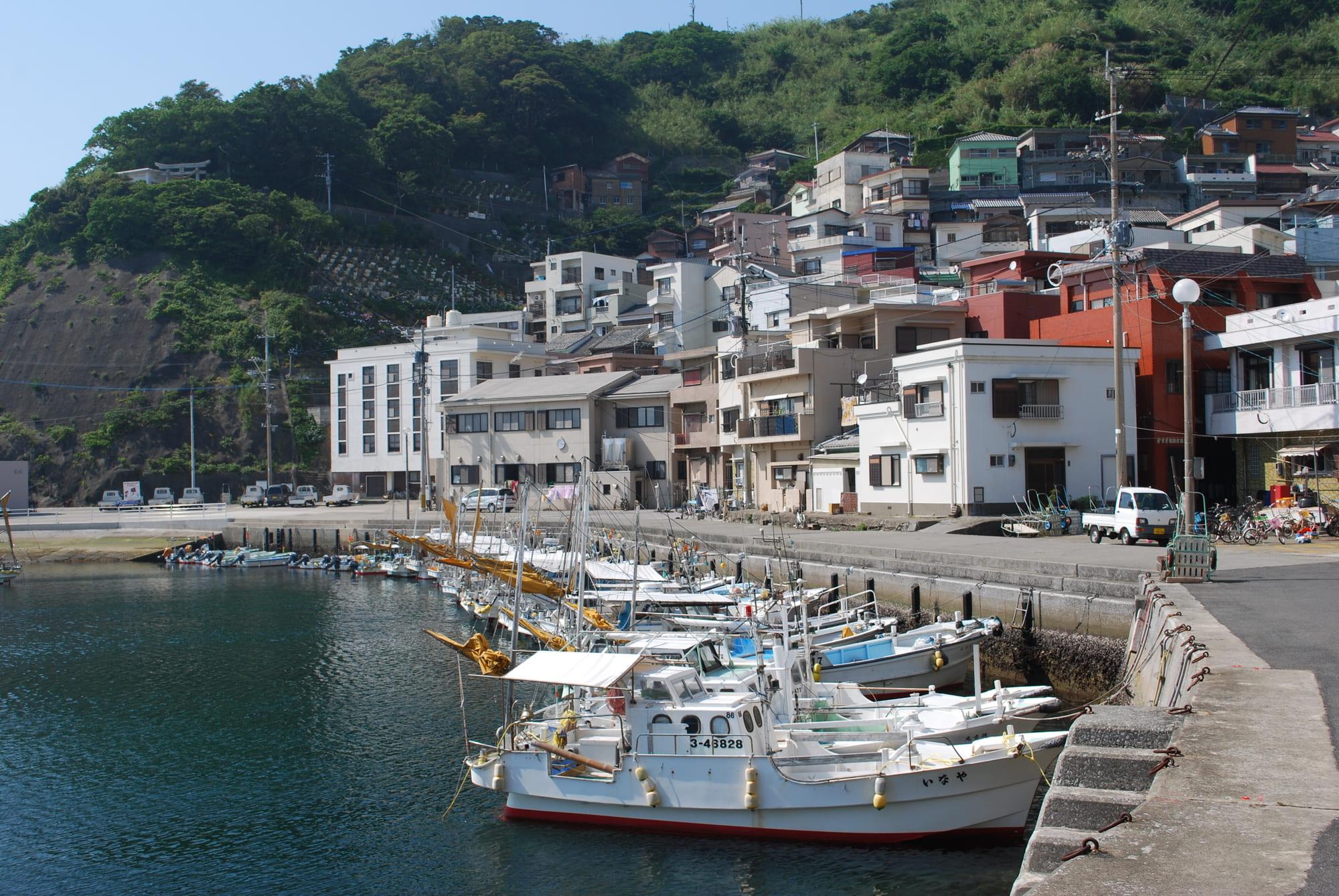 保戸島_漁港