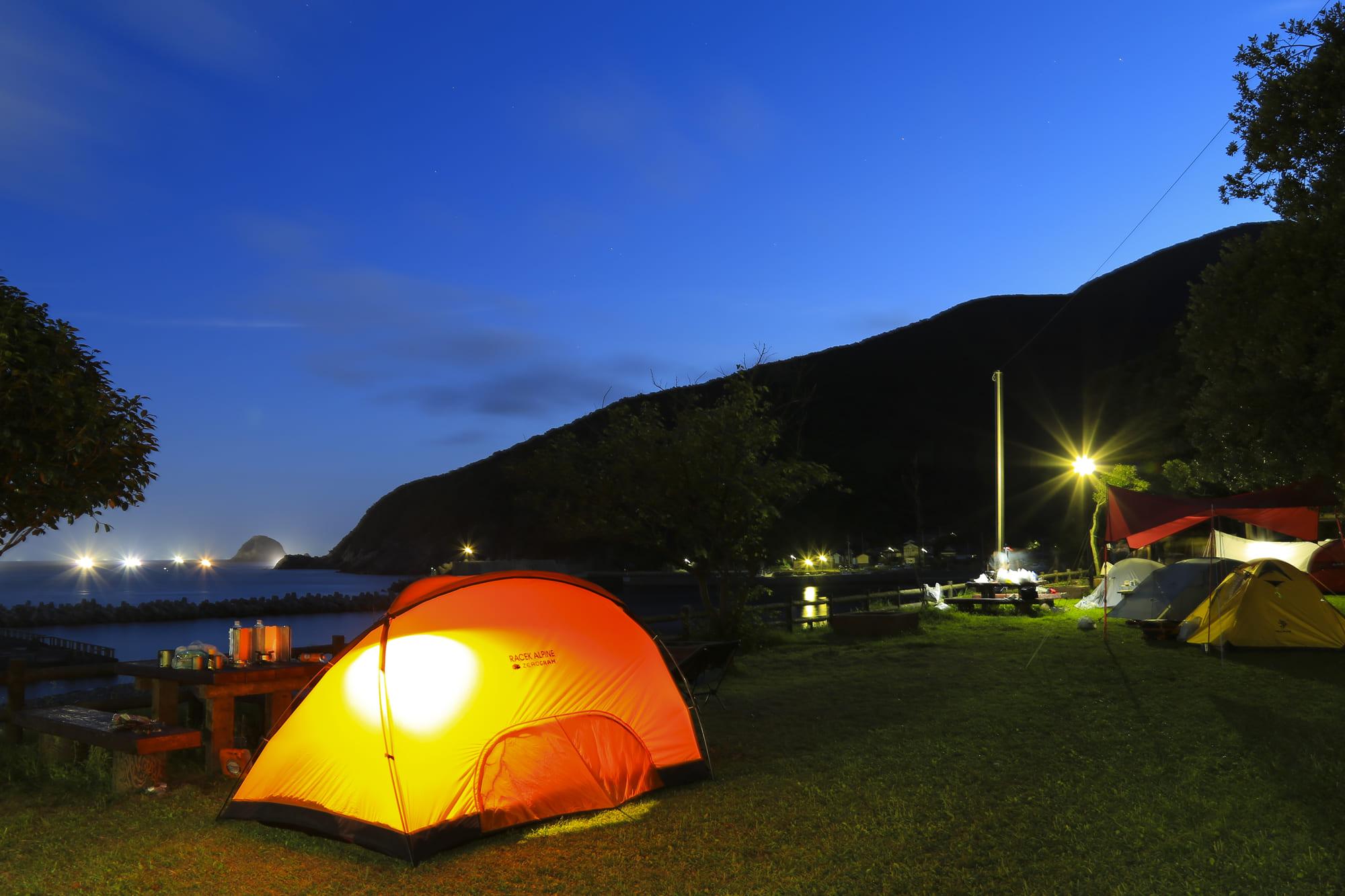対馬島_キャンプ場