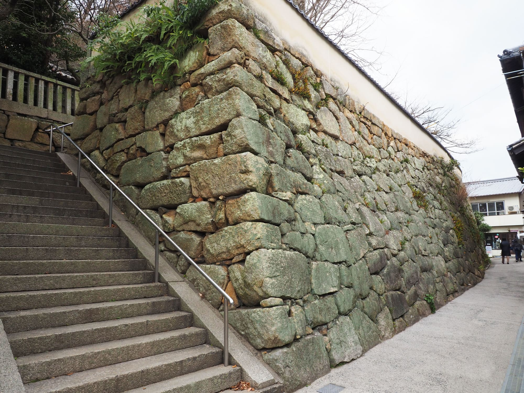 大崎下島_満舟寺の石垣