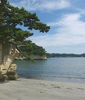 寒風沢島_元屋敷浜