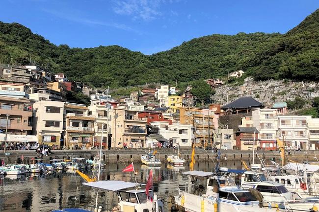 保戸島_港風景