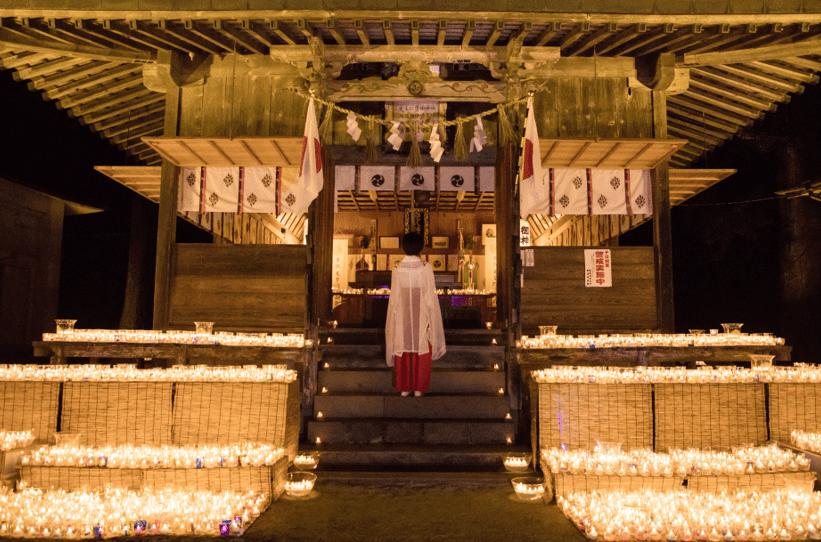 長崎県壱岐市:「神々が宿る島、壱岐 かみあかりの夜 ~まう・ともす・いのる~」を開催しました!