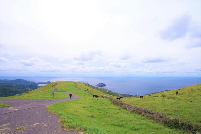 知夫里島_赤ハゲ山