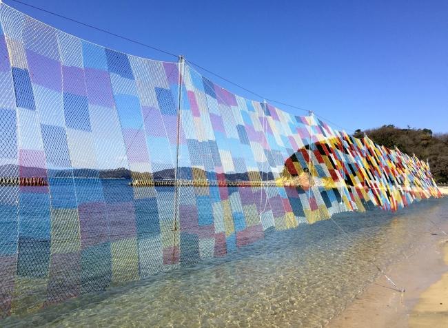 五島列島・奈留島:2019年10月に参加型アートプロジェクト「そらあみ」を開催