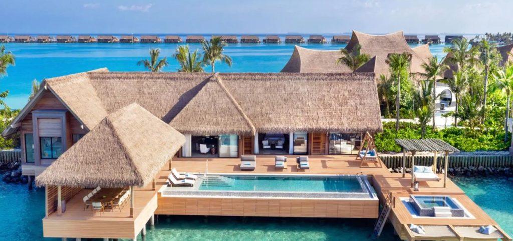 モルディブ・イターフシ島:ヒルトン最上級ブランド「ウォルドーフ・アストリア・モルディブ・イターフシ」が開業