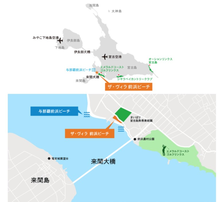 宮古島_ザ・ヴィラ前浜ビーチ