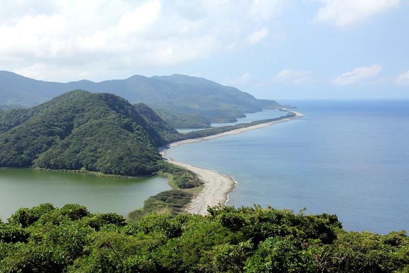 上甑島_長目の浜