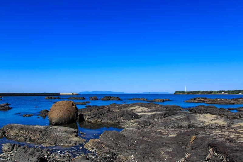 天草諸島_おっぱい岩