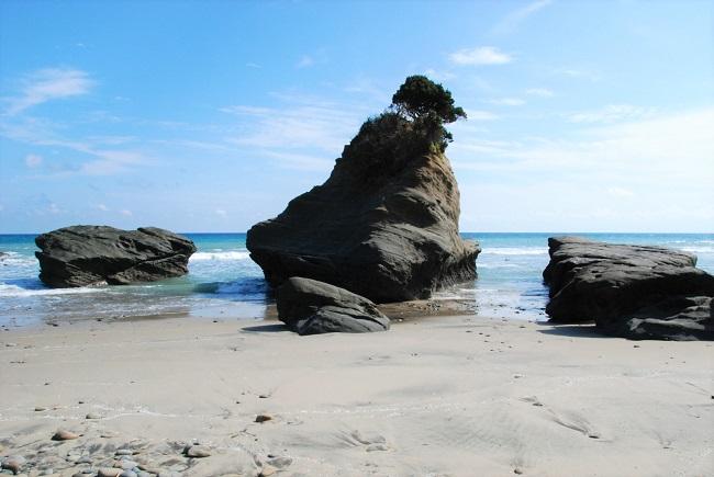 種子島_鉄浜海岸