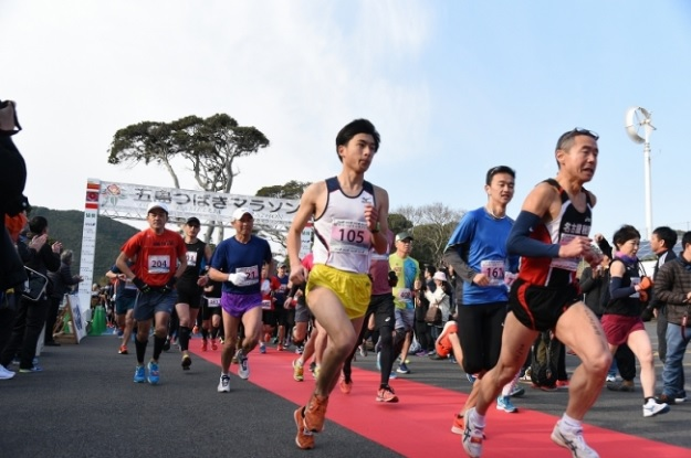五島市_五島つばきマラソン