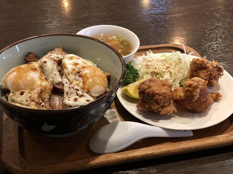 しまなみ苑_焼き豚たまご飯