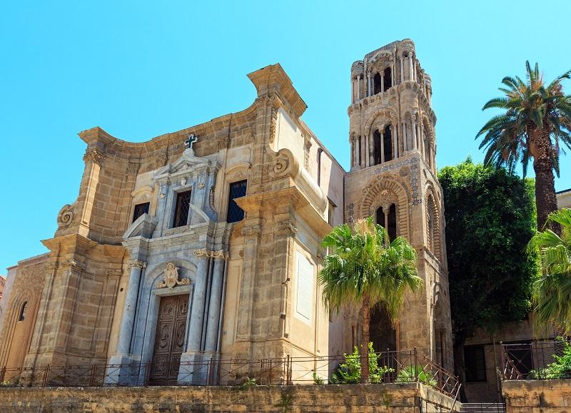シチリア島_マルトラーナ教会