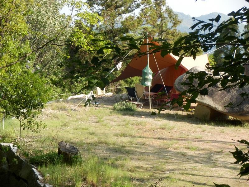 カレイ山キャンプ場