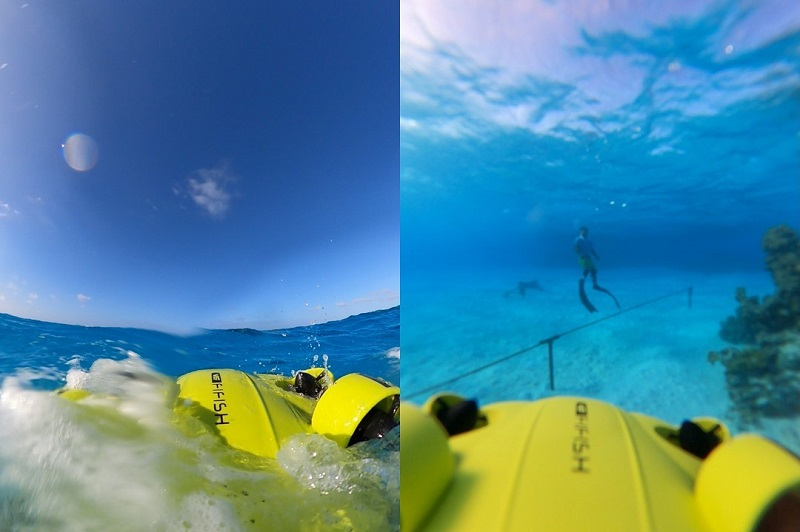 沖縄・豊見城市:沖縄初!空中&水中ドローンの体験型アクティビティ6/19オープン