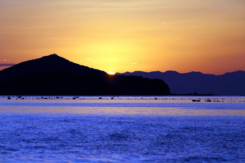 間崎島:京都からヘリで行く日帰り二人旅~伊勢志摩の美しい夕景と海の幸プラン