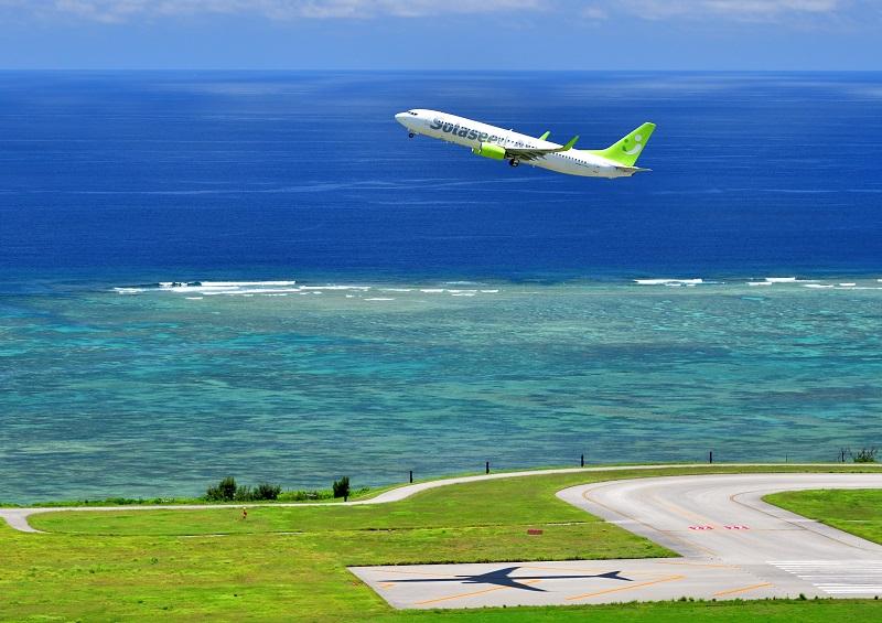 沖縄:ソラシドエアで羽田空港から片道10,200円~。羽田-那覇線、臨時便を運航