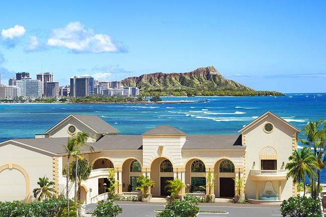 ハワイ・オアフ島_Motifザ・カハラ ウェリナ ガーデン ウエディング