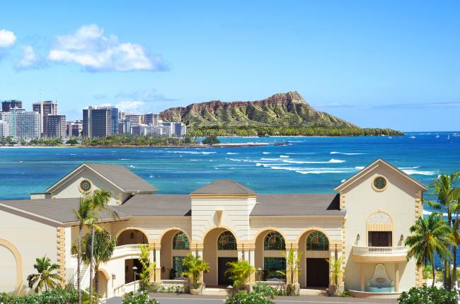 ハワイ・オアフ島_「ザ・テラス バイ・ザ・シー ナウパカチャペル」