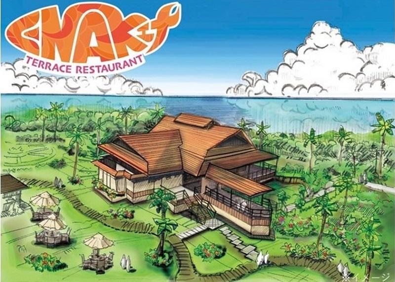 初島:アウトドアリゾート施設「PICA初島」、テラスレストラン10/17オープン