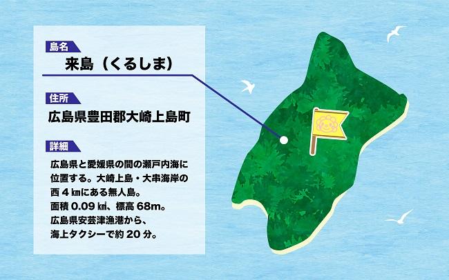広島・来島_「花まる無人島」