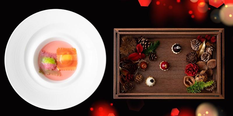 沖縄・恩納村:ホテルでリッチに「Red Christmas 2020 クリスマスディナー」