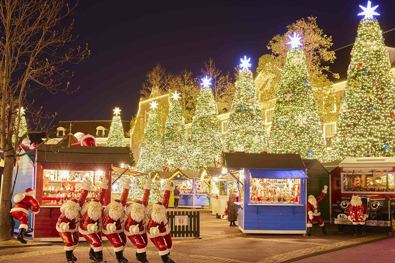 針尾島:「光の街のクリスマス」ハウステンボスが一番輝くシーズンが始まる!
