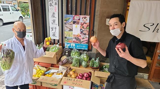 淡路島_「るるぶキッチン産直マルシェ」