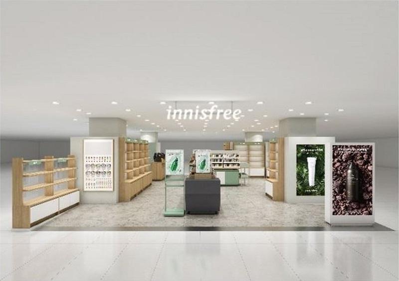 韓国・チェジュ島の自然の恵みから生まれた化粧品『innisfree』福岡にオープン