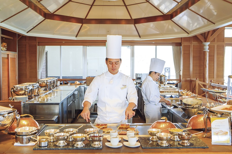 沖縄・恩納村:優雅にワンランク上の朝食を「Teppanブレックファースト」