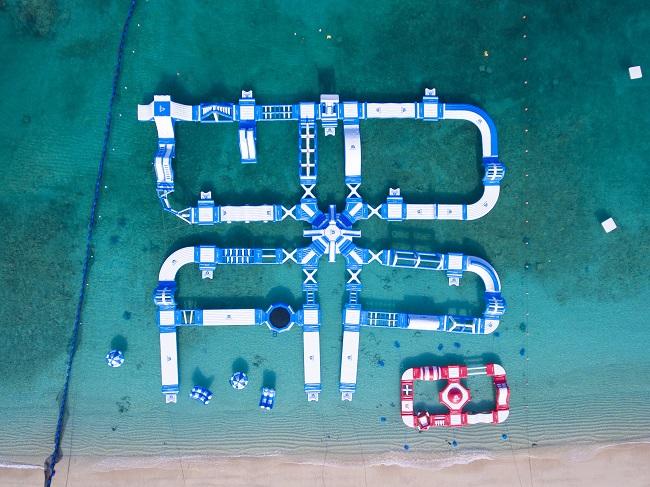 沖縄・恩納村_ANAインターコンチネンタル万座ビーチリゾート「万座ビーチ海開き」