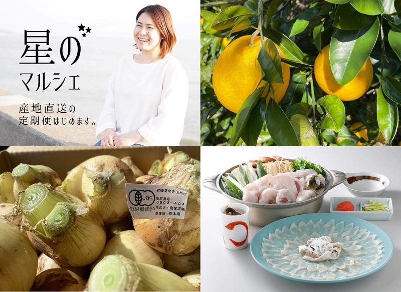 """維和島:天草癒しの地の""""おいしい""""を産直販売!柑橘やとらふぐなど旬の食材をご自宅へ。"""
