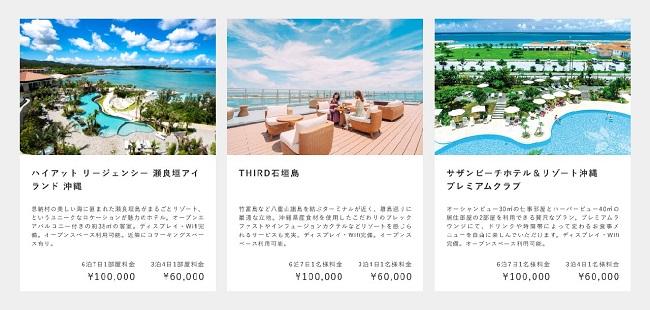 沖縄_リゾートワークス モニタープラン