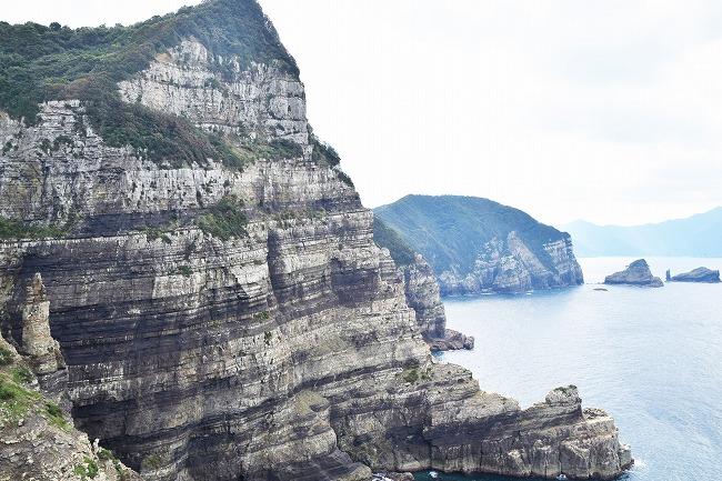 下甑島_夜萩円山公園から見る鹿島断崖_210416