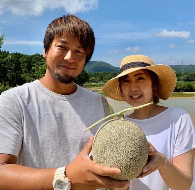 福江島_やしろ農園「椿メロン」