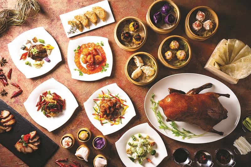沖縄・瀬底島:ヒルトン沖縄瀬底リゾート、伝統料理をスタイリッシュに「モダン&クラシック チャイニーズフェア」開催