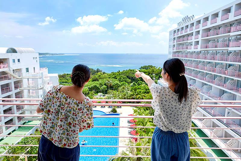 沖縄・本部町:ホテルマハイナ ウェルネスリゾートオキナワ、長期滞在宿泊プランを発売