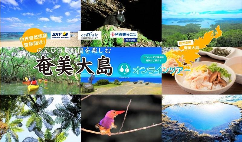 参加者募集中!世界遺産登録間近の奄美大島オンラインツアーを7/4開催!