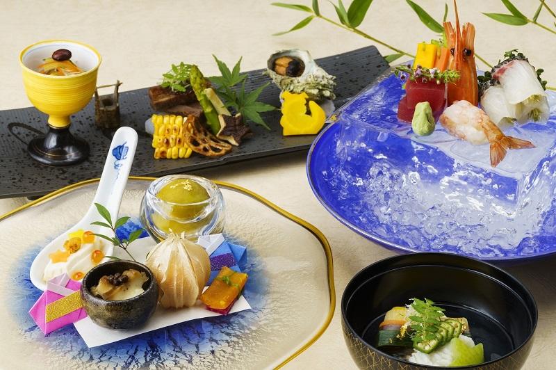 沖縄・読谷村:ホテル日航アリビラ、首里城再建への願いを込めた物語会席を販売