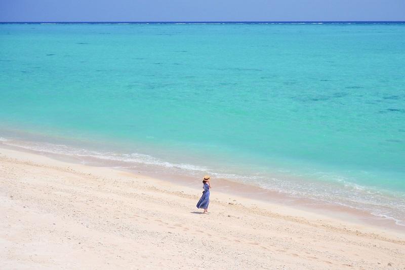 沖縄から行く1泊2日の与論島♪ヨーロッパの風とヨロンブルーを求めて♡