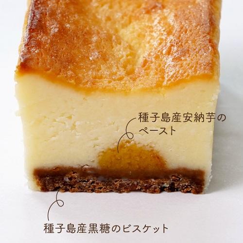 種子島_菓子処渡辺『生粋チーズケーキ』