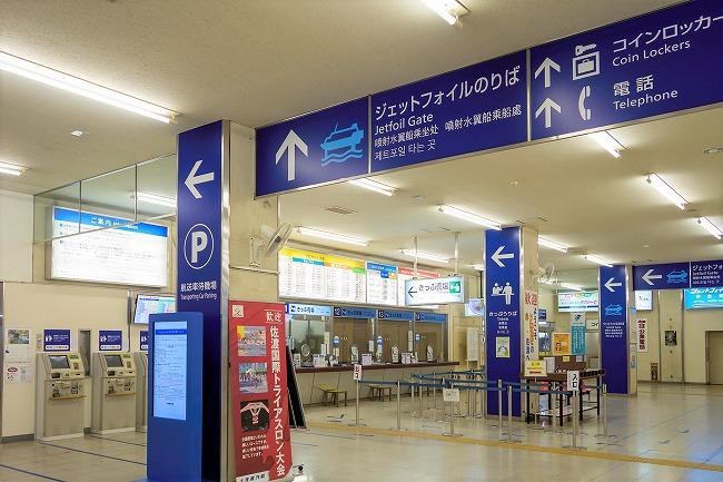 佐渡島_佐渡汽船ターミナル_210802