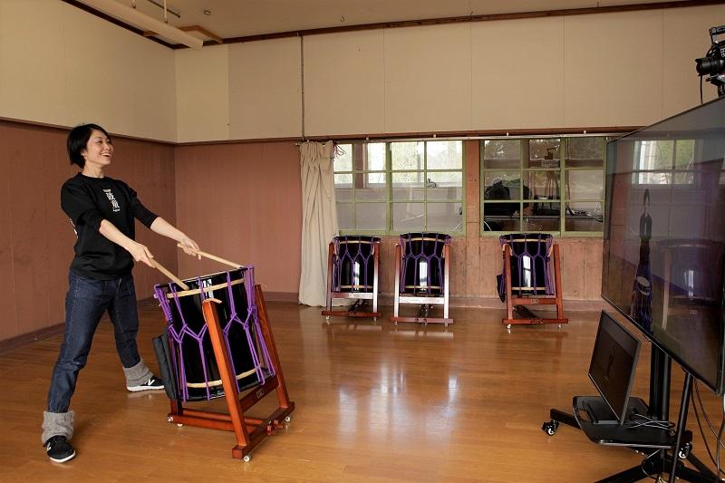 佐渡島:鼓童がZoomで教える「鼓童 太鼓の学校」第1期受講生募集!