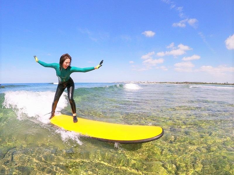 【サーフサイドサービス ハイサイ】沖縄本島でISAインストラクター主催のサーフィンスクール