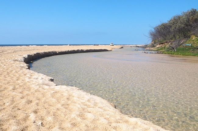 フレーザー島_砂の島